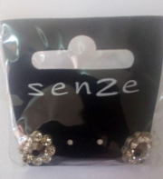 Senze stone set stud earrings (Code 3022)